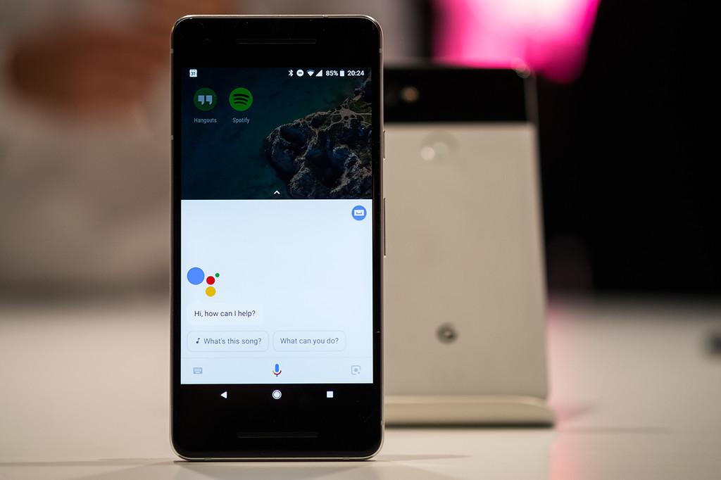Pixel 2 Google Assistant