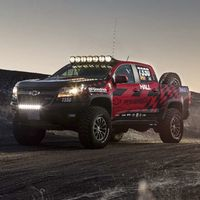 Gracias a Racing Parts, la Chevrolet Colorado ZR2 se pone al tú por tú con la Ranger Raptor