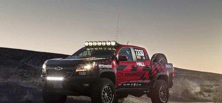 Gracias a Racing Parts, la Chevrolet Colorado ZR2 se pone al tú por tú con la Ranger Raptor