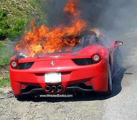 Ferrari 458 Italia y el Caso Burngate