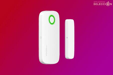 Este sensor magnético de ventanas y puertas de VOCOlinc diseñado para HomeKit está a menos de 20 euros en Amazon