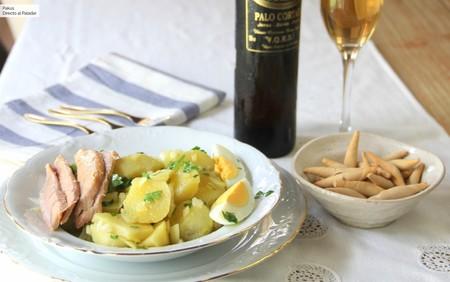 Patatas aliñadas al estilo de Cádiz