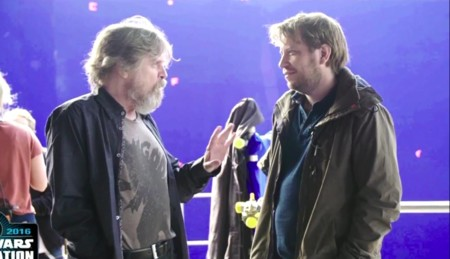 Mark Hamill y Gareth Edwards