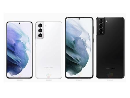 Galaxy S21 y Galaxy S21+ en toda su gloria: se filtran imágenes oficiales de dos de los nuevos flagships de Samsung