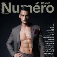 Baptiste Giabiconi enseña pectorales por enésima vez, en esta ocasión para la portada de Numéro