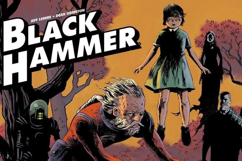 'Black Hammer': el imprescindible cómic de superhéroes atrapados en lo mundano que celebra los más de 80 años de historia del género
