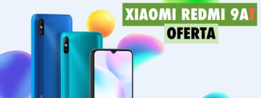 Redmi 9AT, el smartphone de Xiaomi con una autonomía bestial, en oferta hoy por 69 euros y con envío gratis