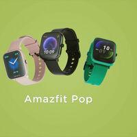 El Amazfit Bip Pop asoma en un vídeo promocional que deja ver su gran parecido con el Amazfit Bip U