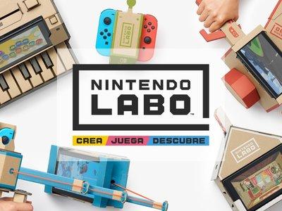Nintendo Labo el cartón llega a la Nintendo Switch