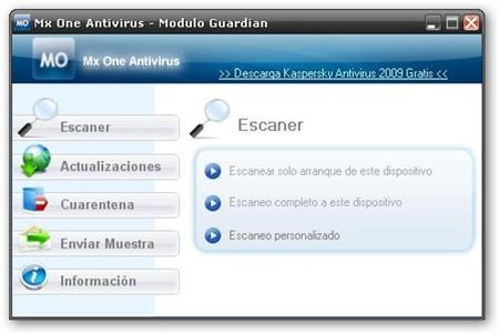 Mx One: antivirus para memorias USB