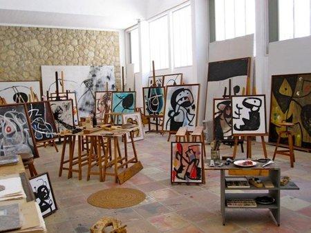 Visita a la Fundació Joan Miró de Mallorca