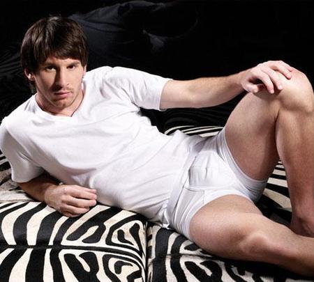 Messi y su faceta como modelo de calzoncillos