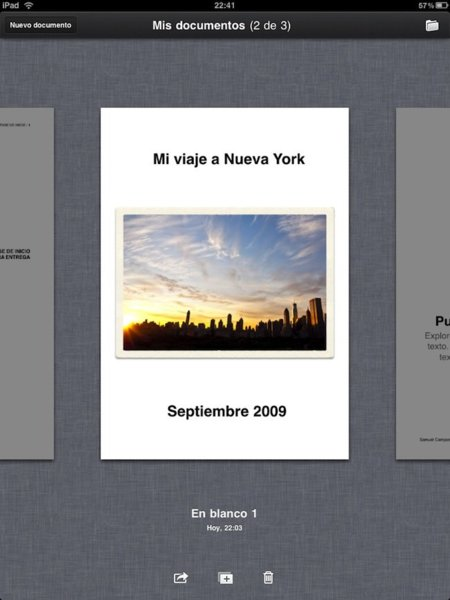 iPad Pages