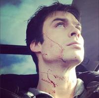¿Qué harías si te encuentras a Ian Somerhalder ensangrentado en una gasolinera?