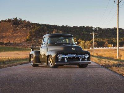 "Ford F100 1956 ""Clem 101"", una troca no apta para débiles de corazón"