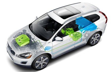 Volvo XC60 Plug-in Hybrid Concept 02