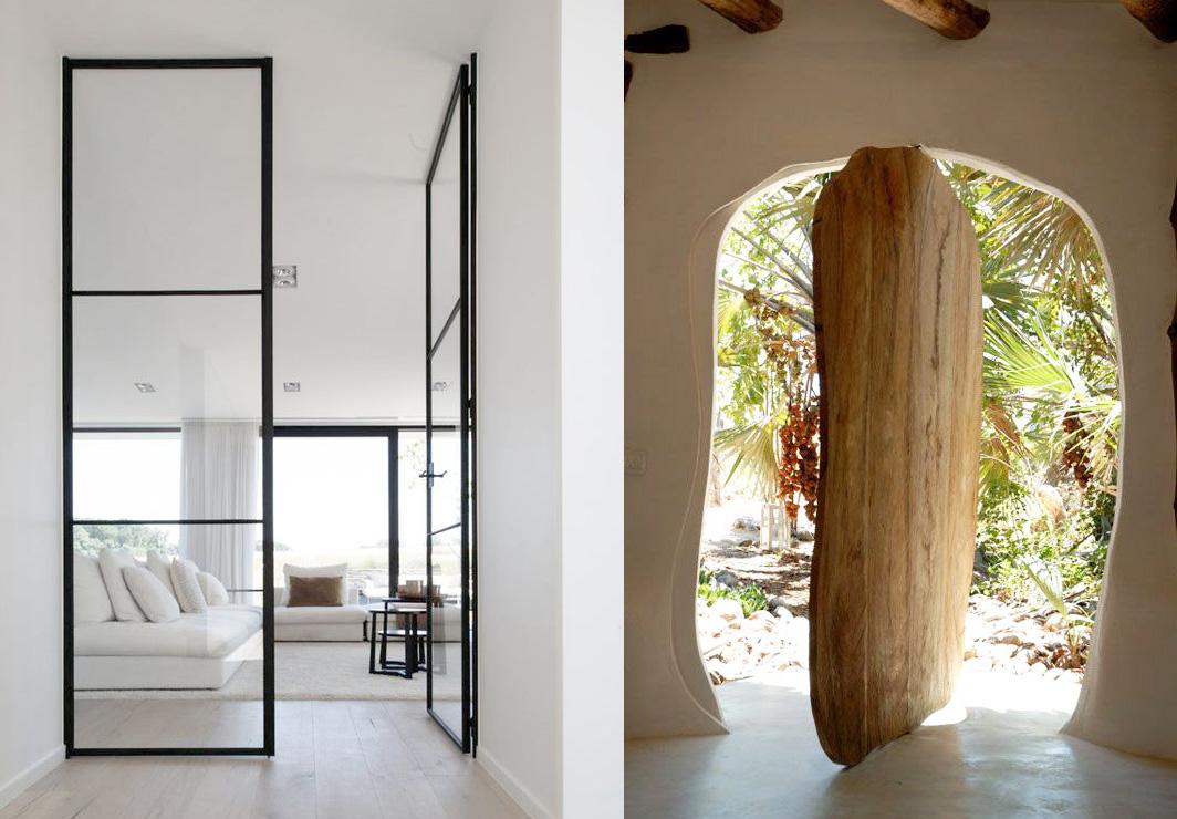 21 puertas realmente espectaculares e inusuales - Vinilos para puertas de madera ...