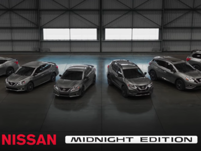 Nissan tampoco se queda atrás y expande a seis modelos su Midgnight edition