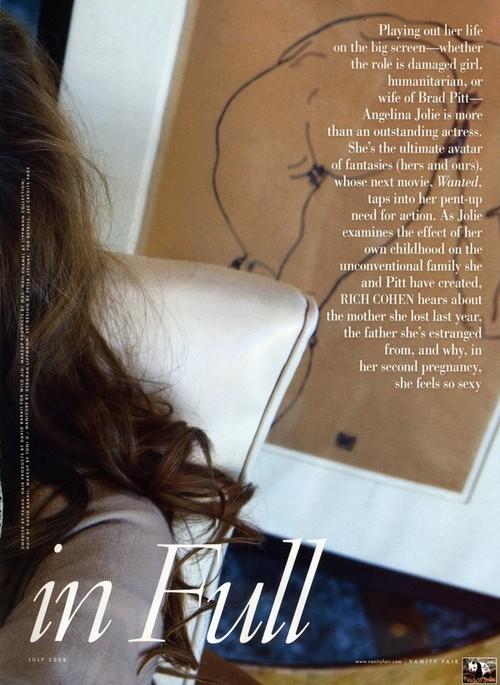 Foto de La sesión completa de Angelina Jolie para Vainity Fair (4/11)