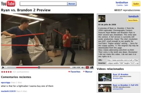 """Youtube prueba la versión """"peso pluma"""" de su web"""