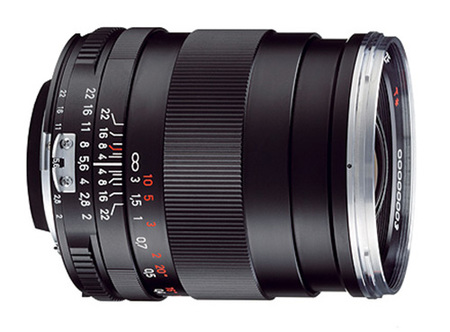 Nuevo Objetivo Carl Zeiss Distagon T* 2/35 para Canon
