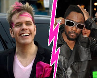 Perez Hilton Vs Will.I.am