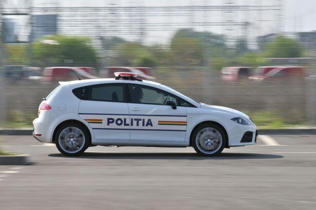 SEAT León Cupra para la policía rumana