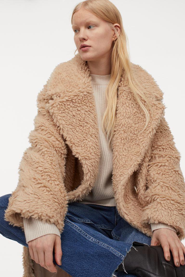 Abrigo en mezcla de lana