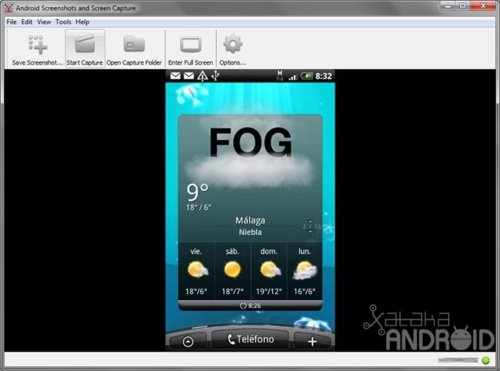 Android Screen Capture, capturas de pantalla y screencasts con más facilidad