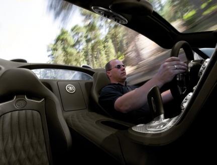 interior Bugatti Veyron Grand Sport