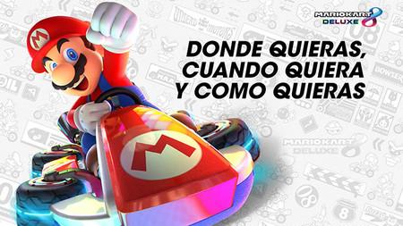 Mario Kart 8 Deluxe muestra en vídeo sus características principales