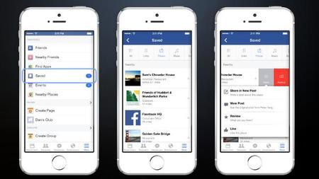 Ahora tus seguidores podrán guardar tus actualizaciones en Facebook para leerlas luego