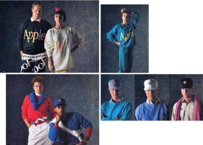¿Apple tuvo su propia línea de ropa? Sí... en 1986