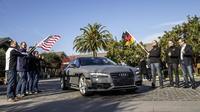 Un Audi A7 Sportback llega de forma autónoma desde Silicon Valley a Las Vegas
