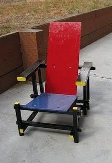 Foto de Red Blue Chair infantil y artesana (1/3)