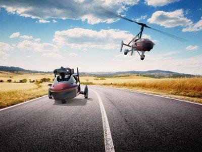 El coche volador de PAL-V está aún más cerca, aunque sigue siendo igual de caro
