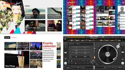 VEVO, Vyclone, edjing y más aplicaciones nuevas llegan a Windows 8