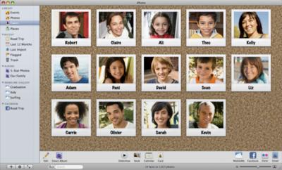 ¿Problemas con las caras en iPhoto'09? Repara tu biblioteca de fotografías