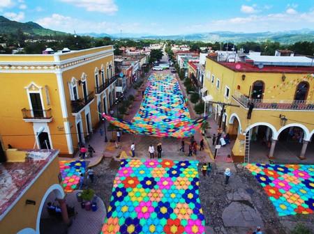 Otro Record Guinness para México: Etzatlán, Jalisco tiene el tejido más grande del mundo