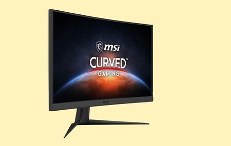 Este monitor curvo gaming de 144 Hz de MSI alcanza su precio mínimo en la Gaming Week de Amazon: llévatelo por 40 euros menos