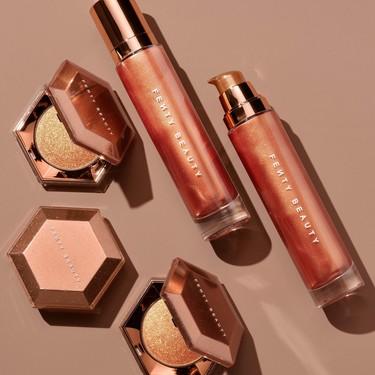 Fenty Beauty nos propone presumir de piel con el efecto más glow gracias a sus nuevos fichajes