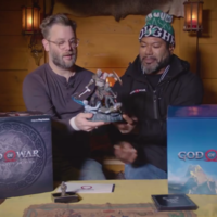 Cory Barlog hace el unboxing oficial de la God of War Collector's Edition ... ¡Sin abrir la caja!