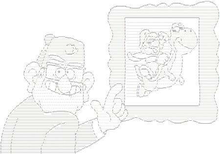 El mítico arte ASCII de los 90 y los 2000: cuando las guías de videojuegos se ganaron un hueco en el museo