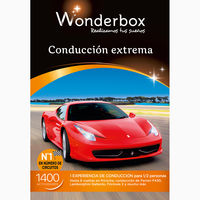 Coleccion Wonderbox 2015 Conduccion Extrema