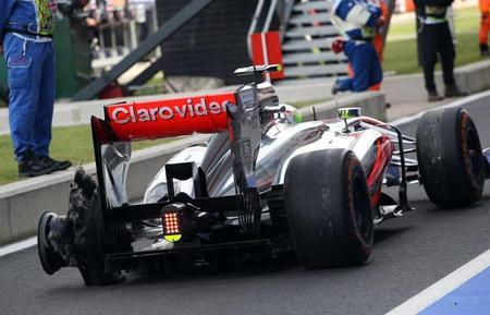 Calificación GP Inglaterra 2013 Pirelli