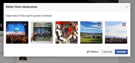 Cómo configurar las fotos destacadas de tu perfil de Facebook