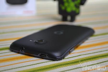 Vodafone Smart 4G, conectores en la parte superior