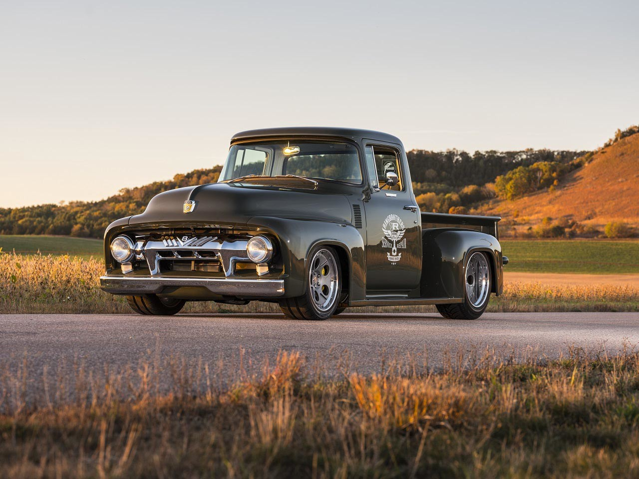 "Foto de Ford F100 1956 ""Clem 101"" (6/21)"