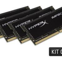 HyperX expande su oferta de memoria Impact con nuevos kits DDR4 de 32GB y 64GB