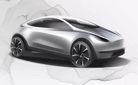 Tesla publica el misterioso boceto de un nuevo coche eléctrico mientras anuncia la apertura de su centro de diseño en China